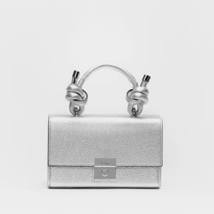 MARY BAG MINI METALLIC SILVER