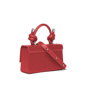MARY BAG MINI NAPPA DEEP RED
