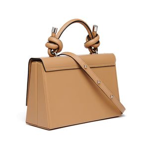 MARY BAG NAPPA ALMOND