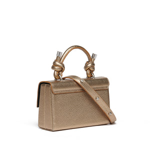 MARY BAG MINI METALLIC GOLD