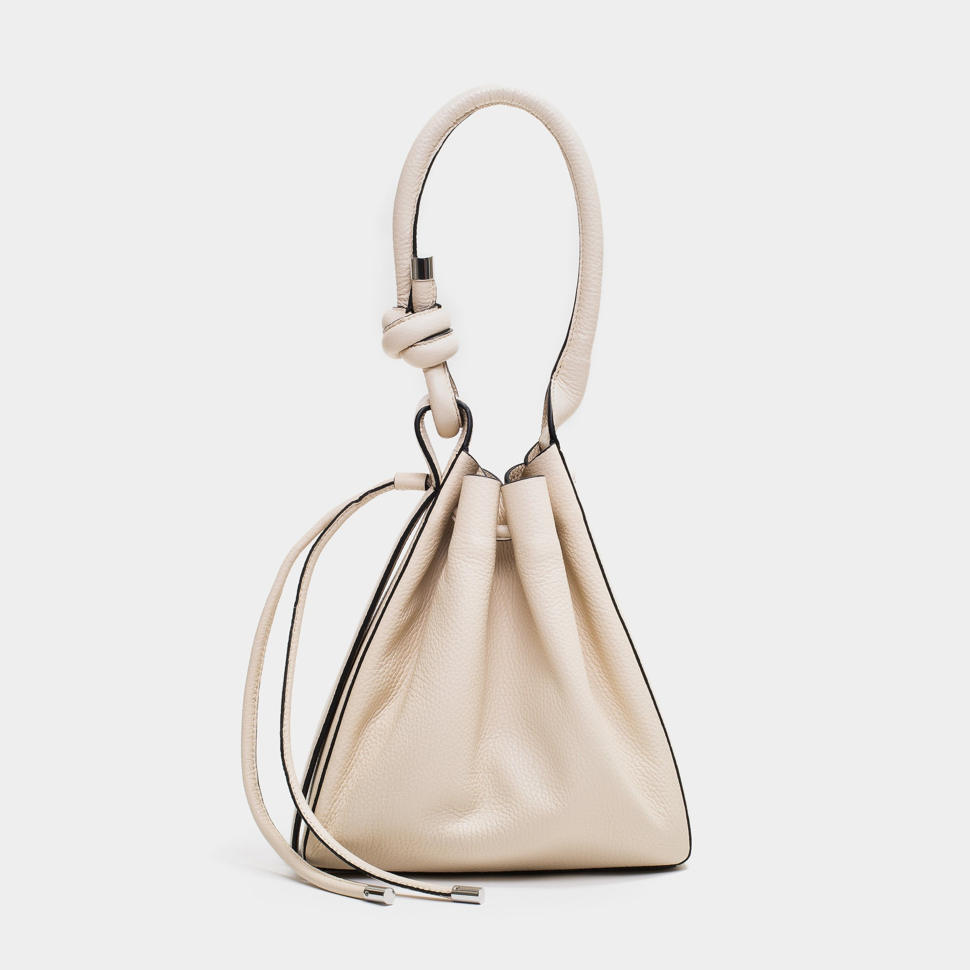 TINA BAG PEBBLE BONE
