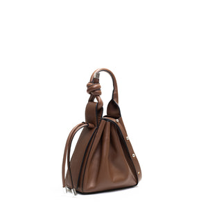 TINA MINI CROSSBODY NAPPA CACAO