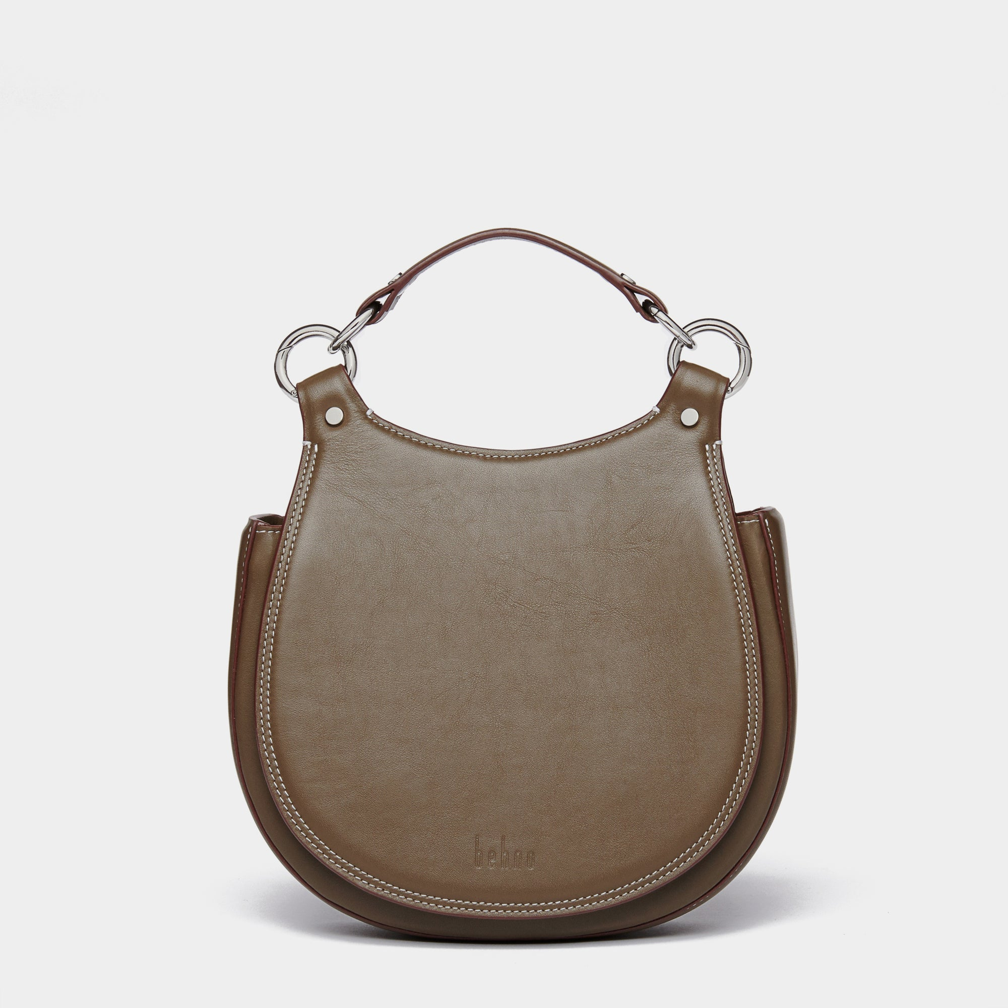 TILDA SADDLE BAG NAPPA ELEPHANT GRAY