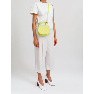 TILDA MINI SADDLE BAG NAPPA LIME GREEN