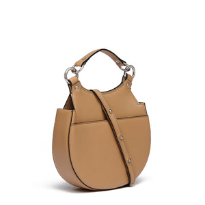 TILDA SADDLE BAG NAPPA ALMOND