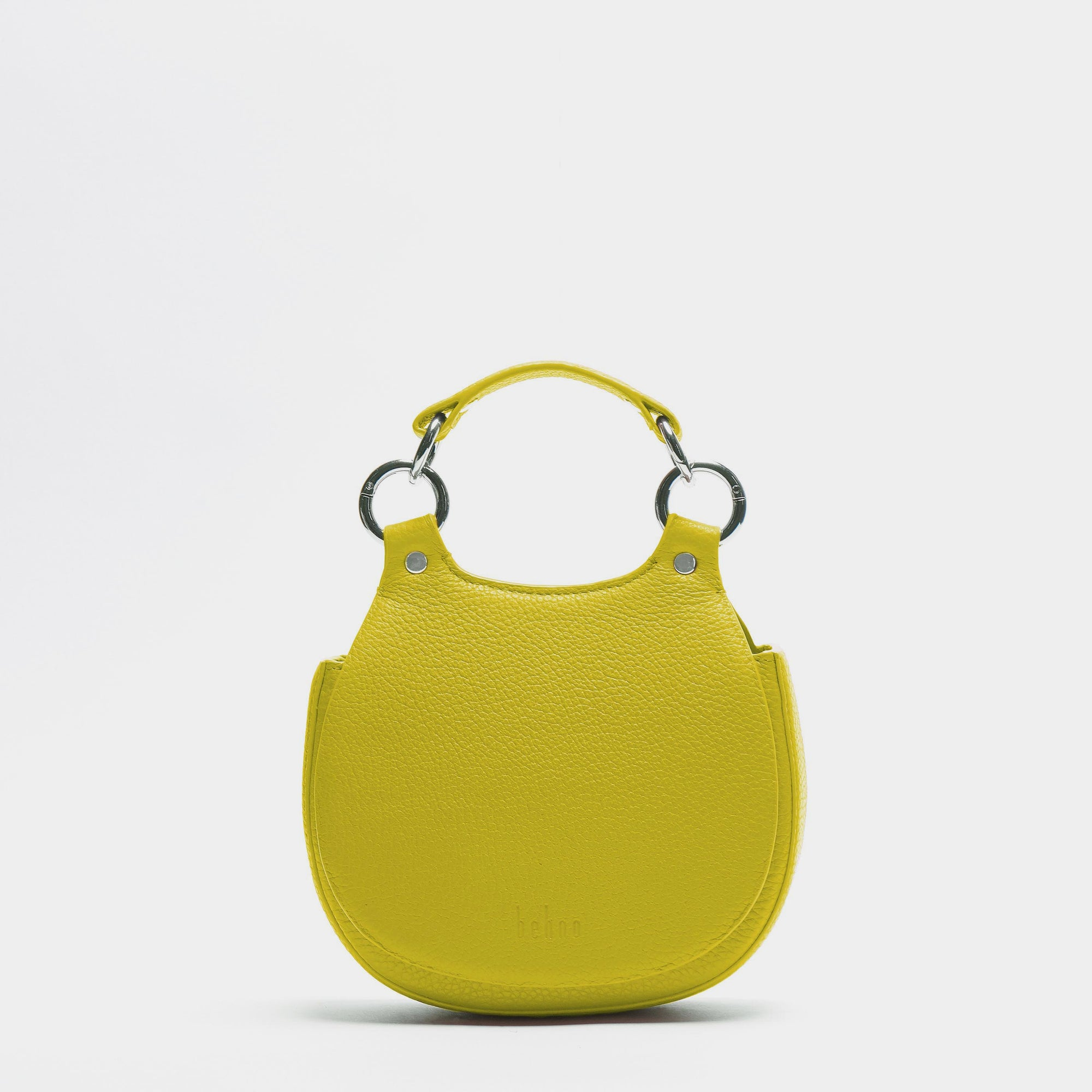 TILDA MINI SADDLE BAG PEBBLE YELLOW