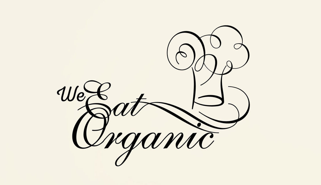 We Eat Organic Wall Decal