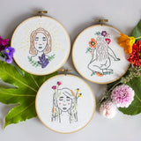 Embroidery - The Femme Floral Collection