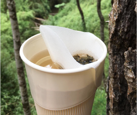 Disposable Tea Infuser - Verde Vivo Tea