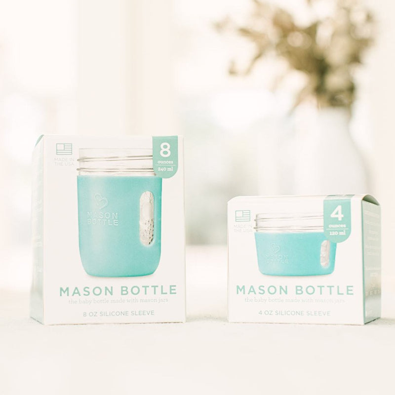 Mason Bottle Silicone Sleeve