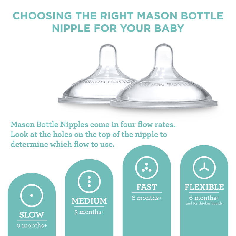The Original 8 oz. Mason Bottle (Pack of 3) - Mason Bottle