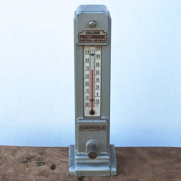 Vintage Sheffield Desk Thermometer