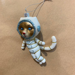 Astronaut Kitty Ornament