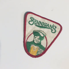 Vintage Bennigan's Patch