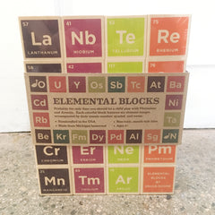 Periodic Table Blocks - OUT OF STOCK