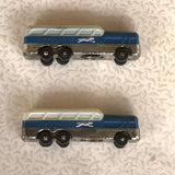 Diecast Greyhound Bus Salt and Pepper Shakers