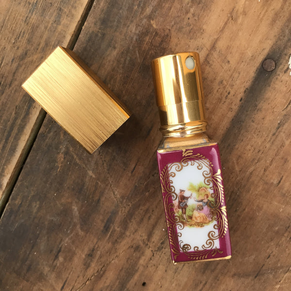 Vintage Limoges Perfume Spray Bottle