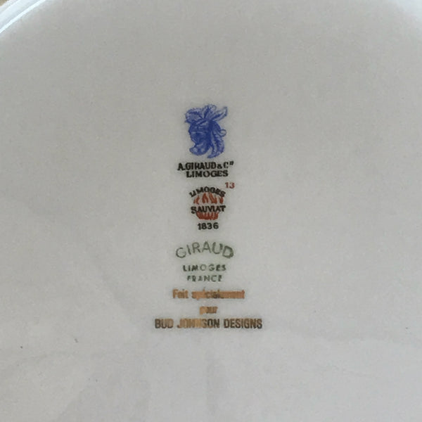 Vintage Limoges Serving Plate
