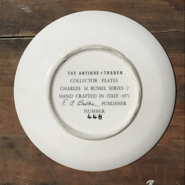 Vintage Decorative Plate - The Wagon Boss