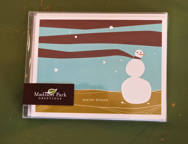 Winter Wishes _ Snowman_Boxed Holiday Cards