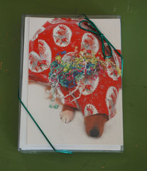 Wrapped Dog Boxed Cards