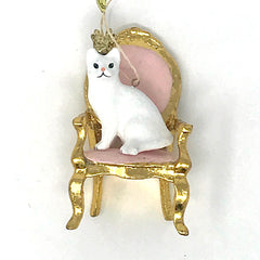 Royal Cat Ornament