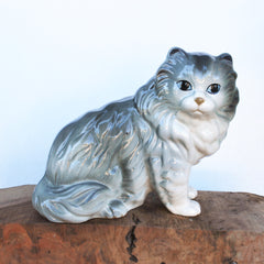 Vintage Ceramic Persian Cat