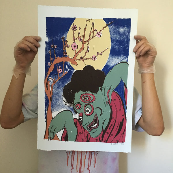 Coccetti Screen Print - Full Moon