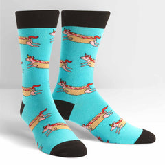 Corn Dog Men's Crew Sock