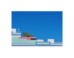 BACK IN STOCK!  Hayley Eichenbaum - Day Moon Over Santa Monica