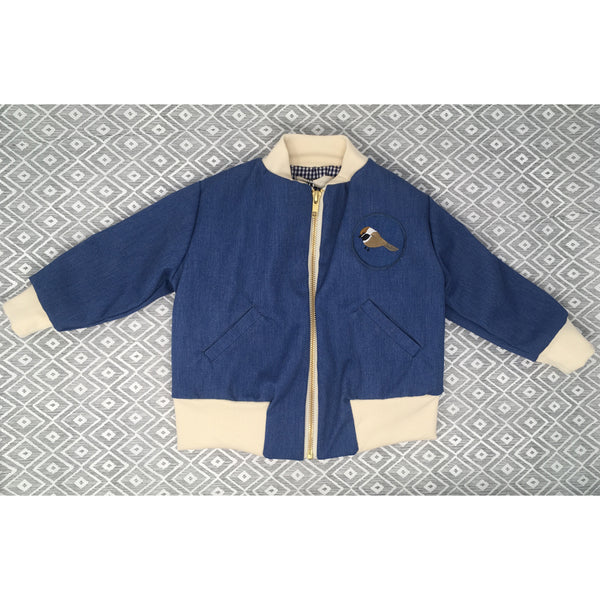 Arlo Jacket - Blue OUT OF STOCK