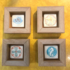 Framed Vintage Tiles - SALE