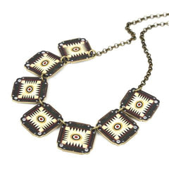 Green Game Board Necklace