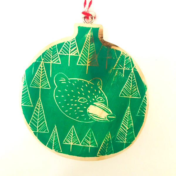 Hand Painted Ornament - SALE!  LAST ONE!