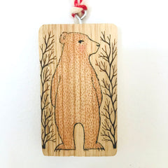 Hand Painted Tag/Ornament