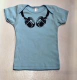 Headphones Baby T-Shirt