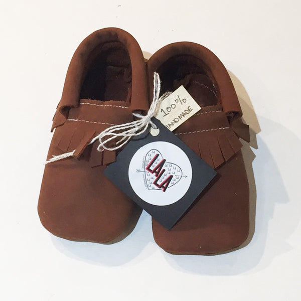 LA LA Moccasin - Brown