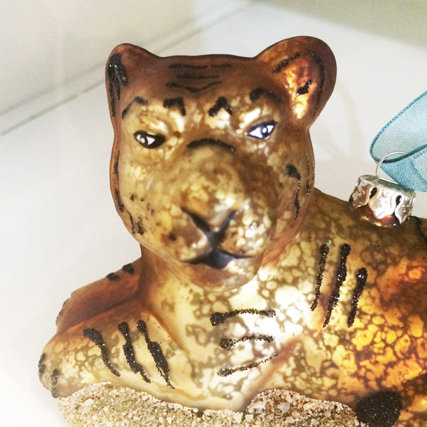 Tiger Ornament Decoration Glass