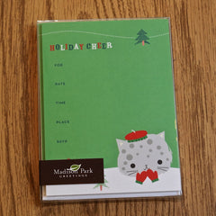 Invitation Cards - HOLIDAY CHEER or HOLIDAY PARTY