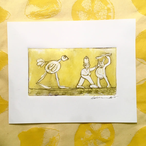 Etching_Yellow Chase