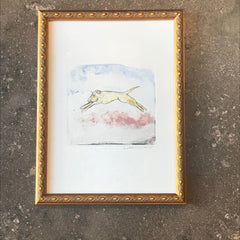 SOLD OUT - Framed Lieberman Etching.