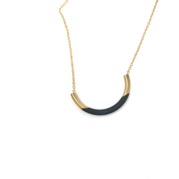 Mired Metal Necklace TUBE