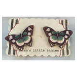 mama's little babies butterfly earrings