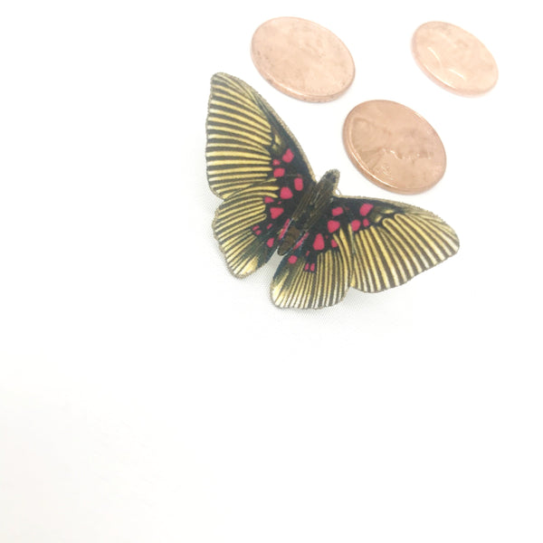 butterfly pin brooch lapel