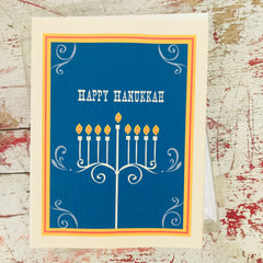 Menorah Boxed Cards