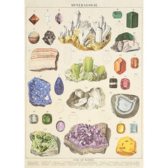 Wrapping Paper Sheet - Mineralogie - Back In Stock!