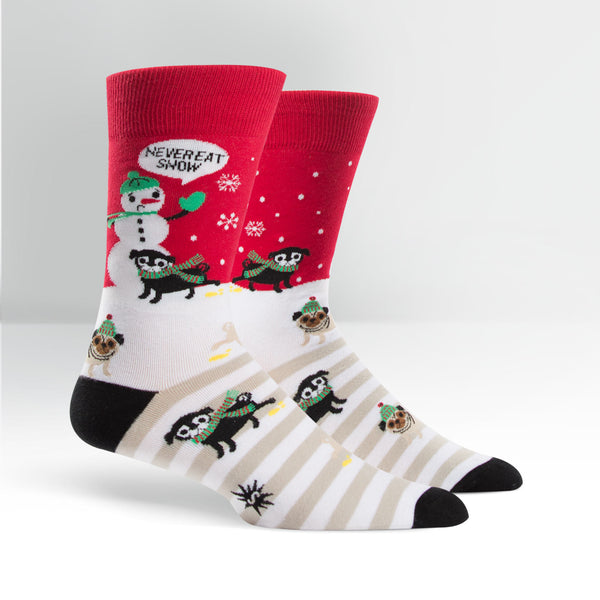 Never Eat Snow Men's Crew Sock