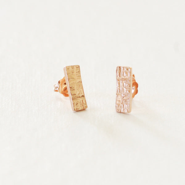 Lockrow Earrings  - Rectangle