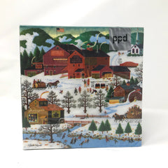 Smoke Creek Landing Dinner Napkin Holiday