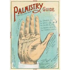Wrapping Paper Sheet - Palmistry Guide